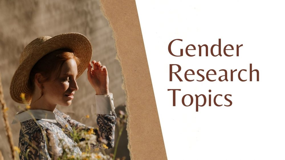 gender research topics
