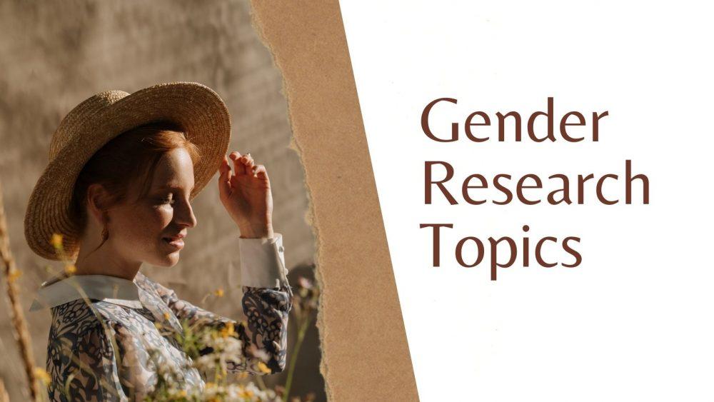gender research topics