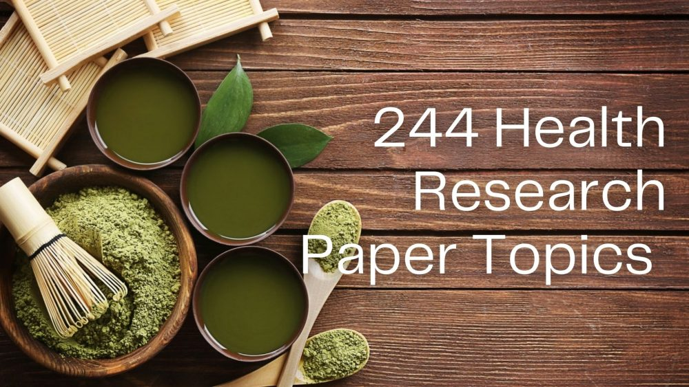 health Research Paper Topics
