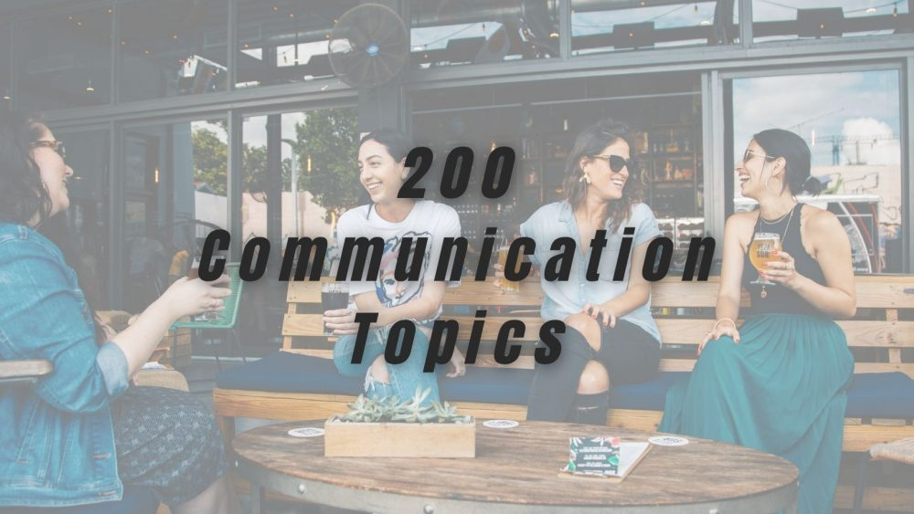 Communication topics