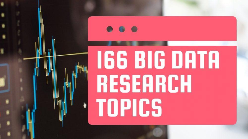 big data research topics